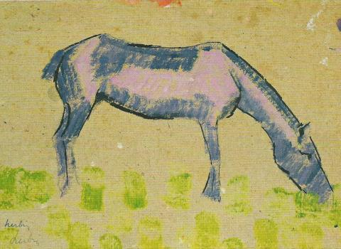 Auguste Herbin, le cheval 1907